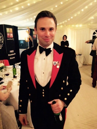David Seath was fundraising for Help for Heroes at London Marathon when he collapsed (Image: JustGiving)