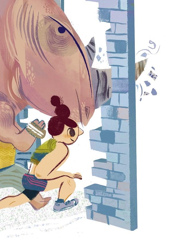 Illustration by Meg Hunt