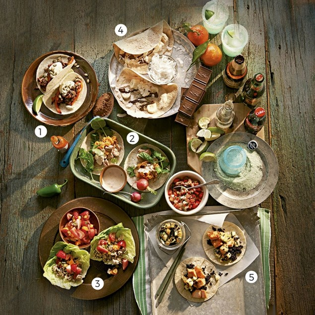 Food styling by Paul Grimes. Photography by Mitch Mandel