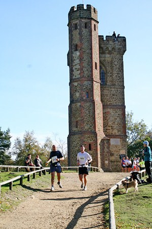 Historic sights at the Trionium Greensand Marathon