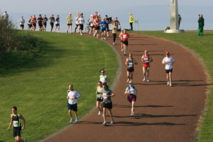 Runners tackle the Great Welsh Marathon