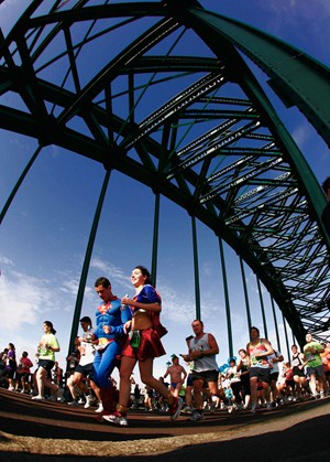 The Bupa Great North Run Picture credit: Getty Images