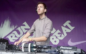 Calvin Harris at last year's race