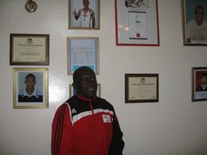 Coach Jimmy Simba