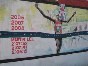 Martin Lel's London Marathon wins