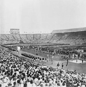 The second London Olympics in 1948 (Credit: Getty Images)