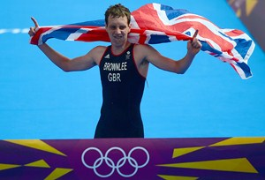 Alistair Brownlee picks up Team GB's 19th medal of the London Games