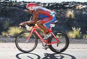 'Macca'- Chris McCormack on the bike leg in 2011 (Photo: Bakke-Svensson/Ironman)
