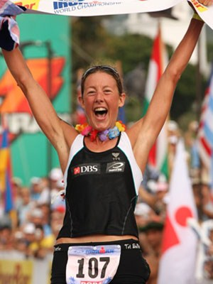 2011 winner Chrissie Wellington is taking a year off from racing this year (Photo: Bakke-Svensson/Ironman)